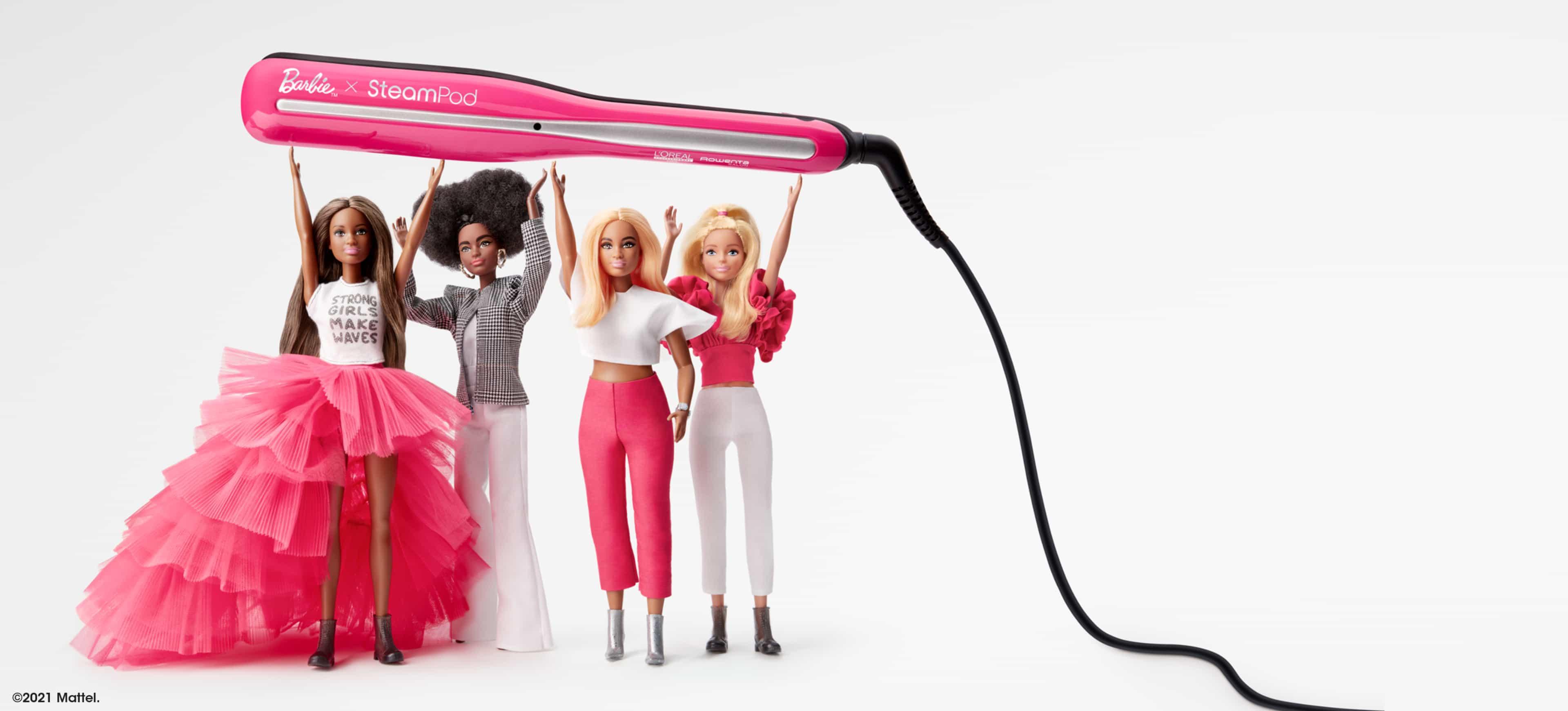 Steampod Barbie L'Oréal Professionnel