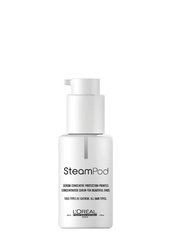 steam active serum