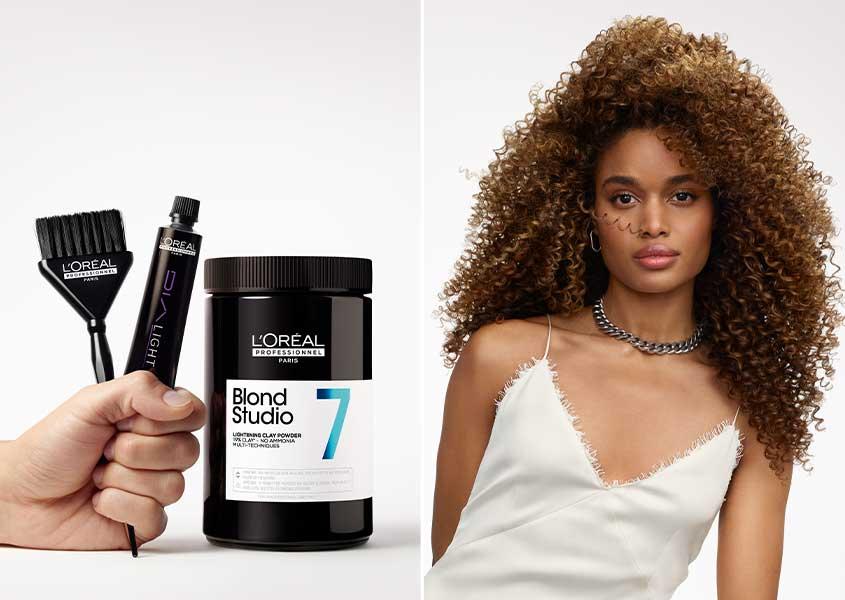 L'Oréal Professionnel gamme Blond Studio 7 Brendaly