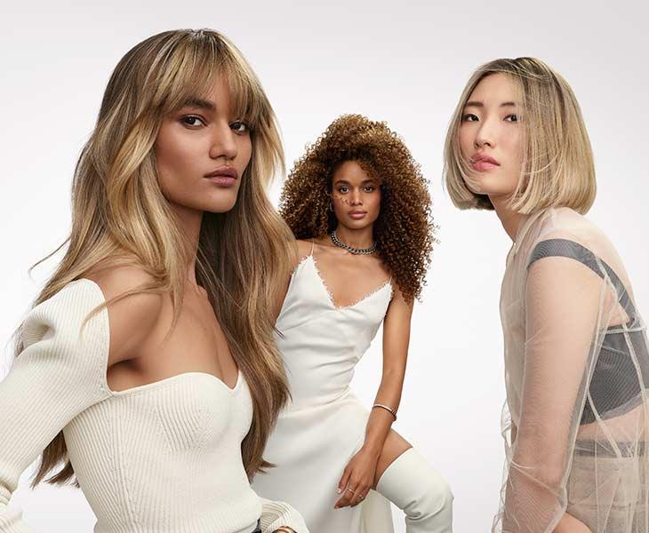 L'Oréal Professionnel gamme Blond Studio Trio Crop