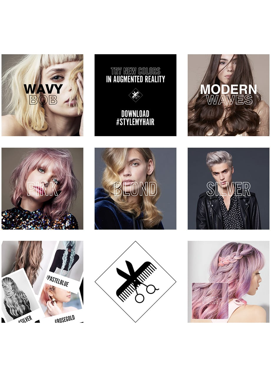 Artificial Intelligence on Style My Hair app