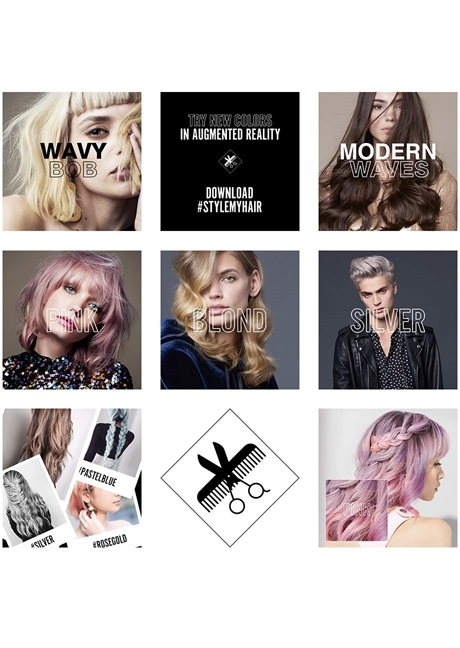 Style My Hair application by L\'Oréal Professionnel