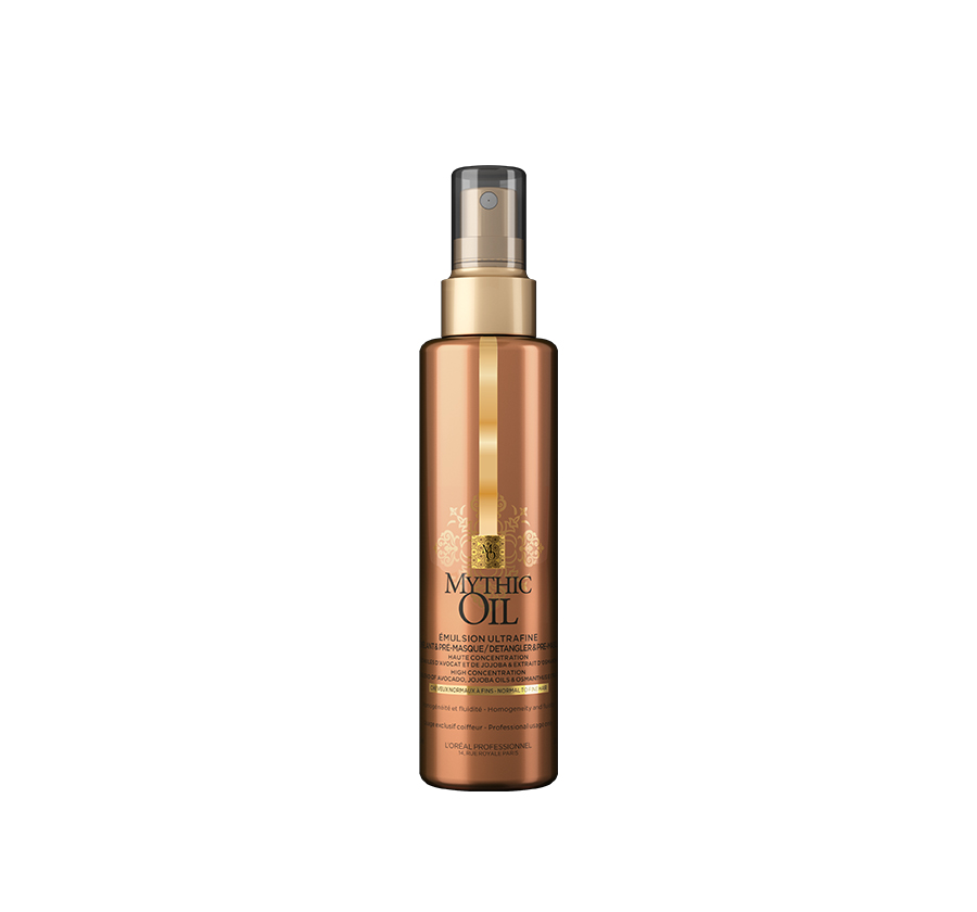 Emulsion Ultrafin Detangler and Pre-masque Mythic Oil