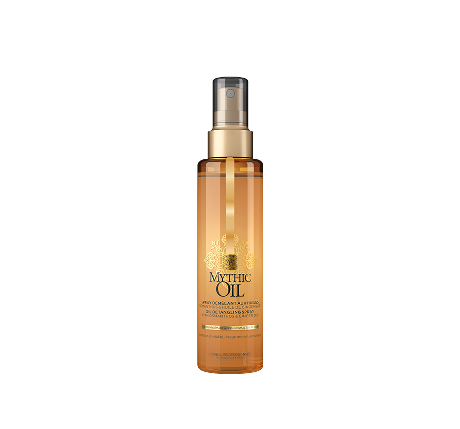 Oil Detangling Spray Normal to Fine Hair Mythic Oil