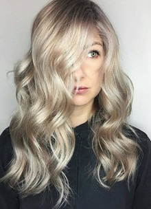 Hollywood Waves Result Hair Photo